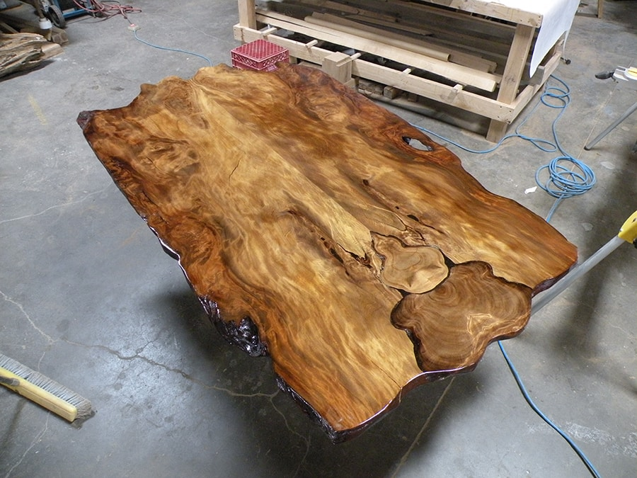 Original reclaimed wood table top