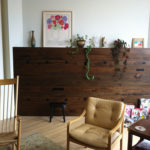 Antique elm reclaimed wood