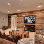 mixed hardwood wood paneling