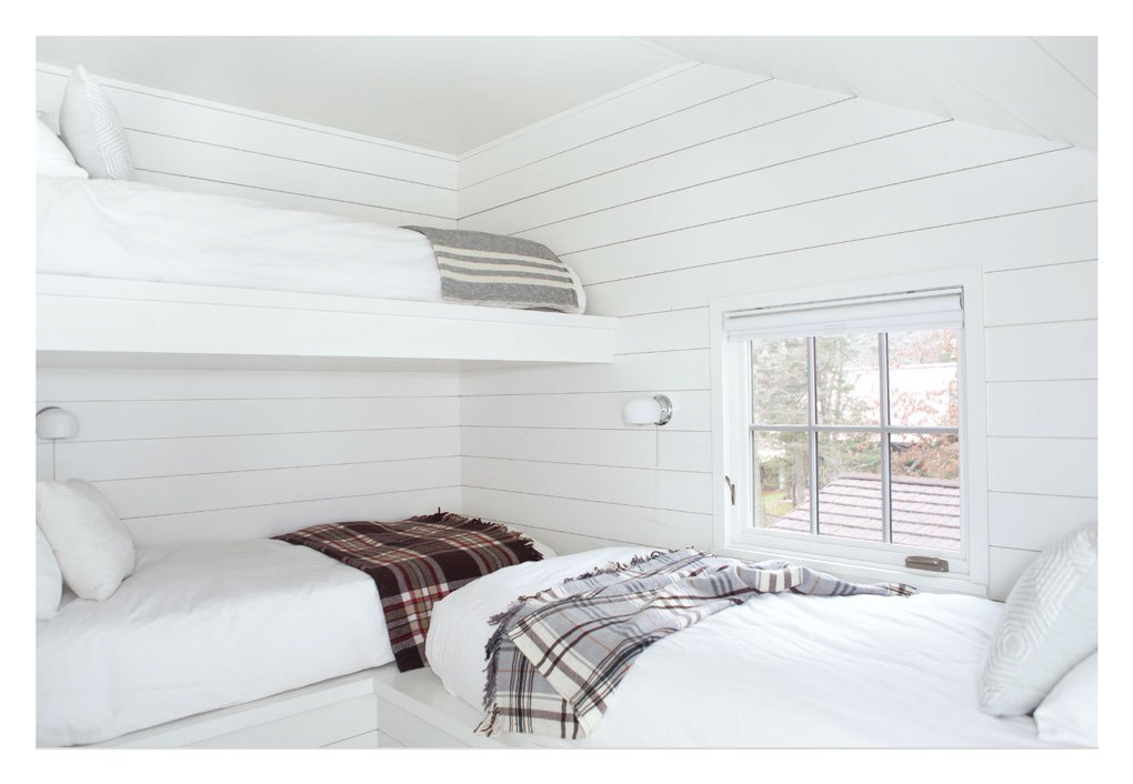 Transformed Cabin Guest Room