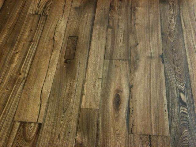 Elm Wood Reclaimed Flooring