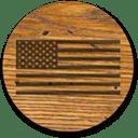 wood-flag