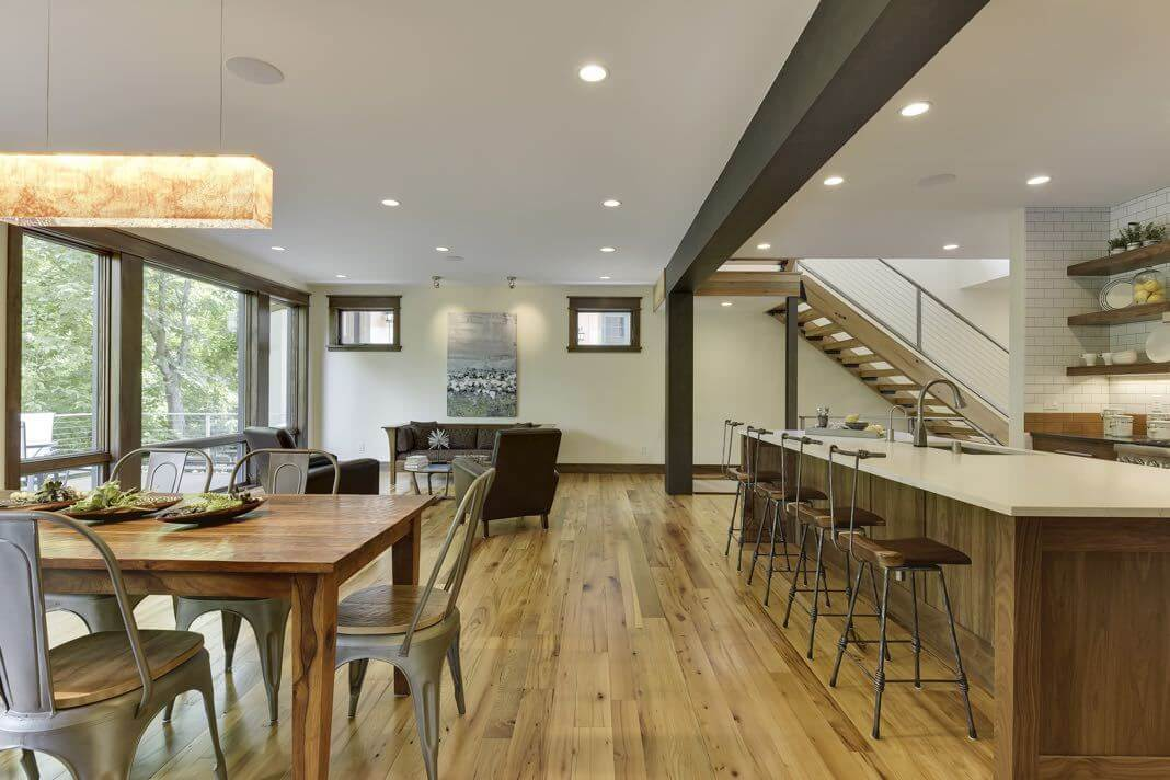 natural elm reclaimed wood flooring