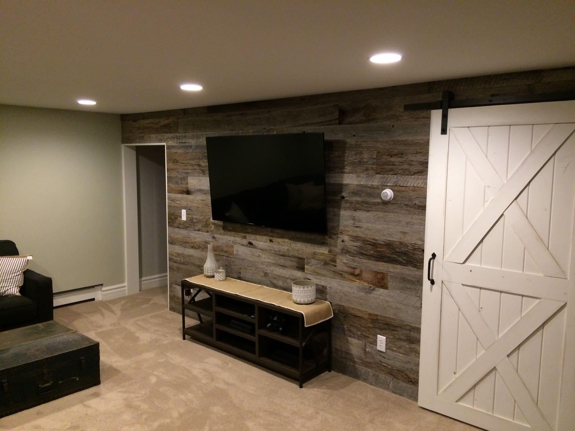 Reclaimed Wood Wall DIY: 6 Step Installation