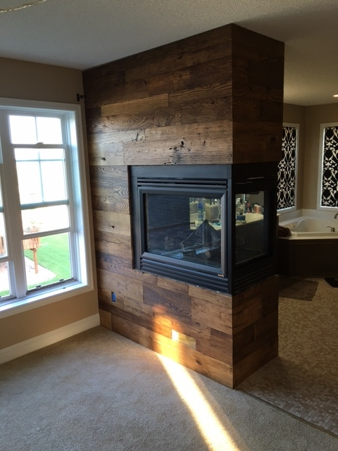 Old Wood Wall Paneling: Wormy Chestnut Wall Paneling