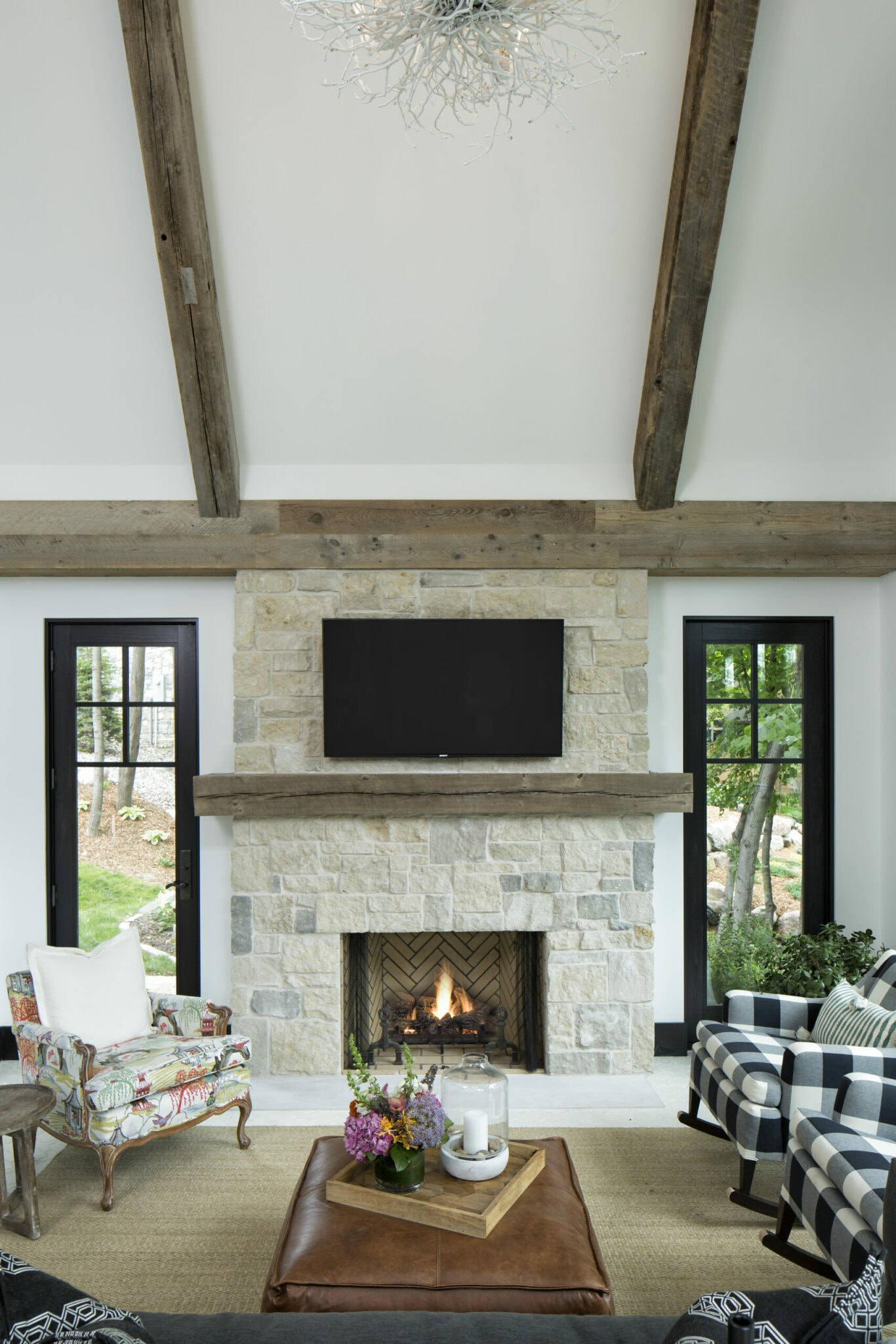 Decorating with wood walls and accents