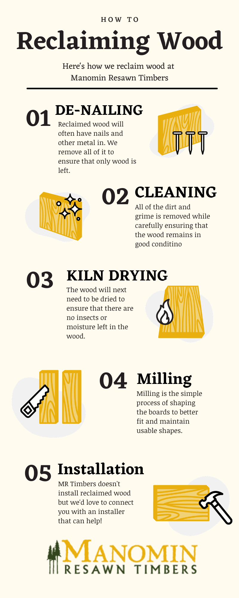 how to reclaim wood