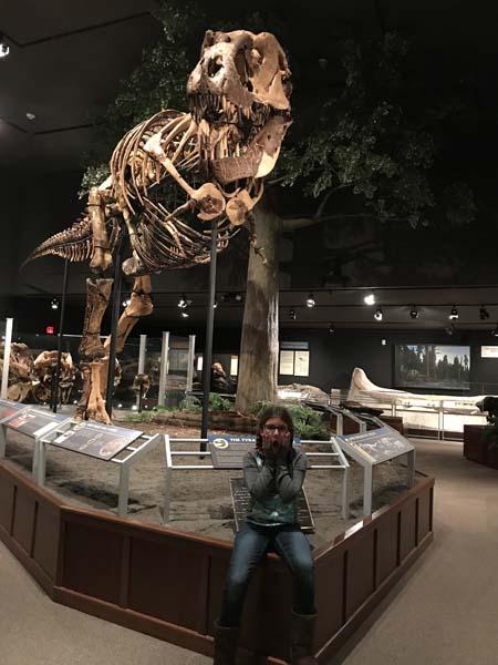 MSU Dinosaur exhibit!
