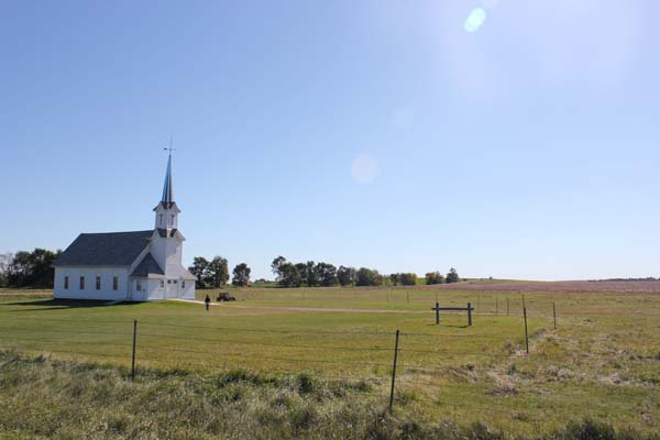 The church at the homestead.