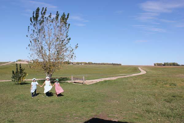 My Little house on the prairie girls!