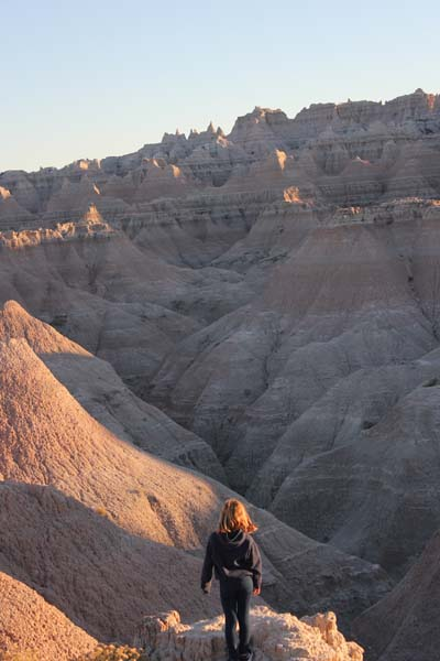 Hiking the badlands!