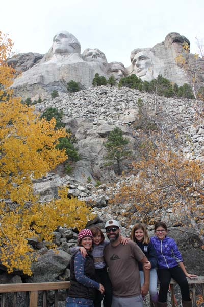 Mount Rushmore was so amazing! Way exceeded my expectations!