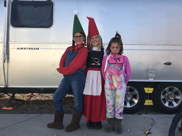 An elf, a gnome & a baby!