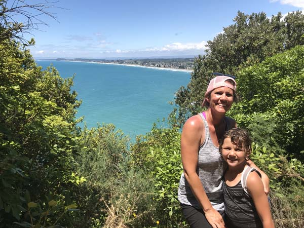 Gorgeous hike to a gorgeous beach! Waihi Beach