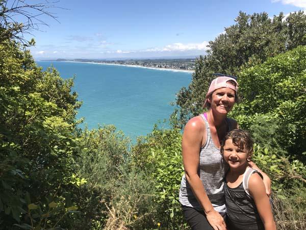 Gorgeous hike to a gorgeous beach! Waihi Beach