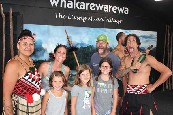 Learning how the Maori's live!