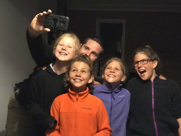 We visited the friends we met at Lake Hewea at their home in Dunedin.