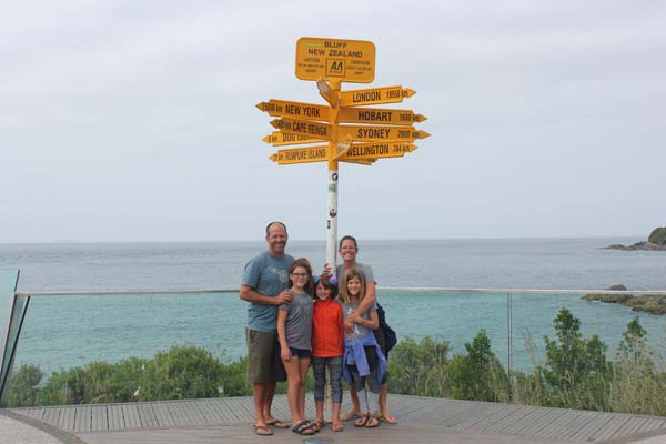 Bluff - Most Southern point of the South Island!