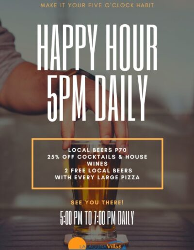 Lalaguna Villas - Happy Hour Every Day