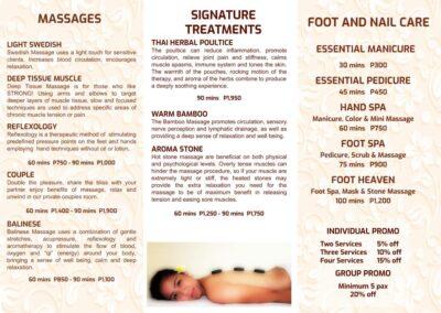 Lalaguna Villas WellZen Spa Brochure