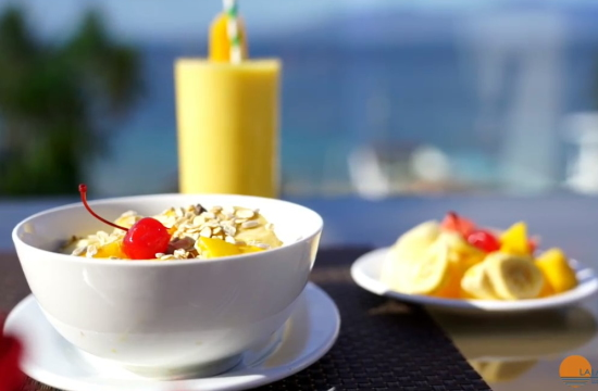 Lalaguna-Villas-Luxury-Dive-Resort-Spa- Breakfast