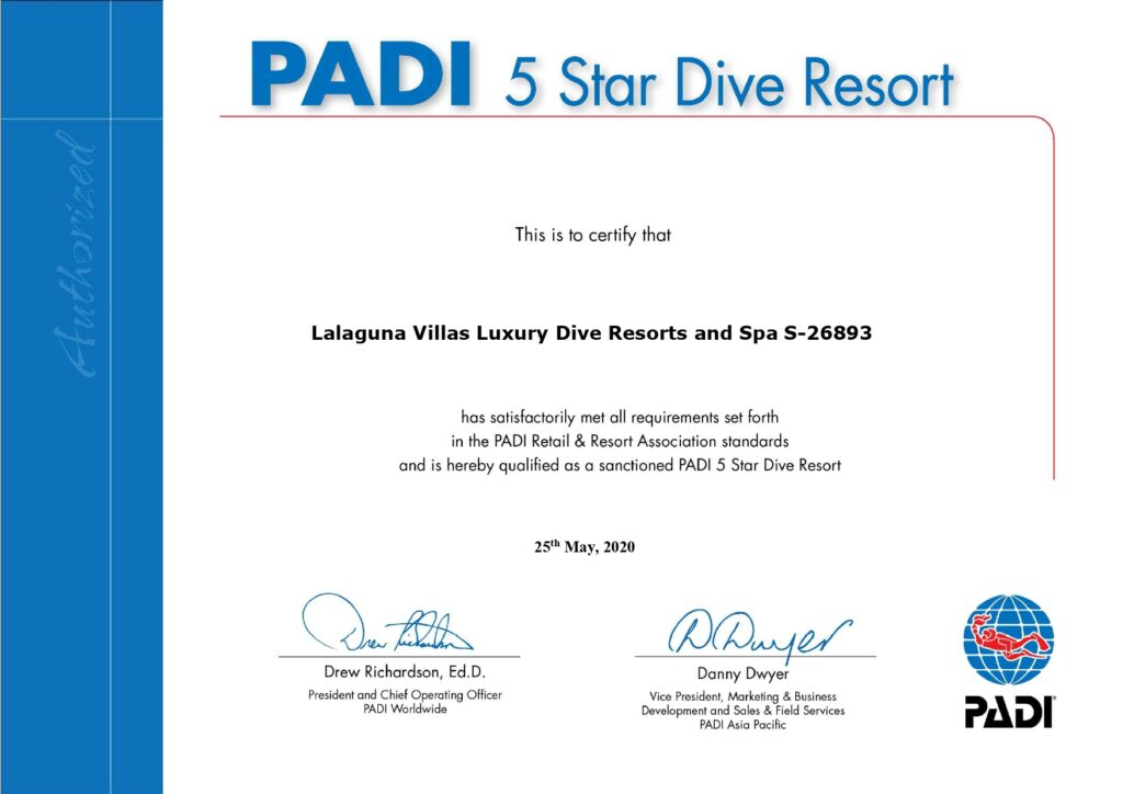 Lalaguna Villas Luxury Dive Resorts and Spa - PADI 5 Star Dive Resort