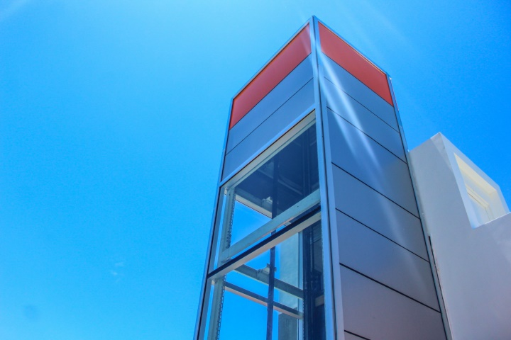 Our New Panoramic Elevator