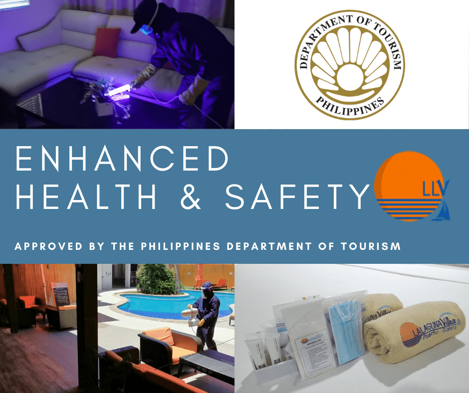 LALAGUNA VILLAS - New Health & Safety Guidelines to Maintain our COVID-free Environment
