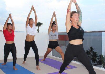 Yoga in the Sky - Lalaguna Villas