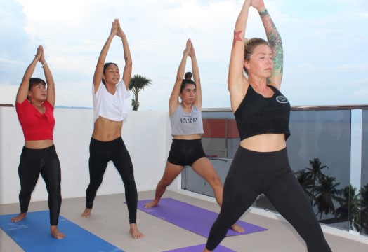 Yoga in the Sky - Lalaguna Villas