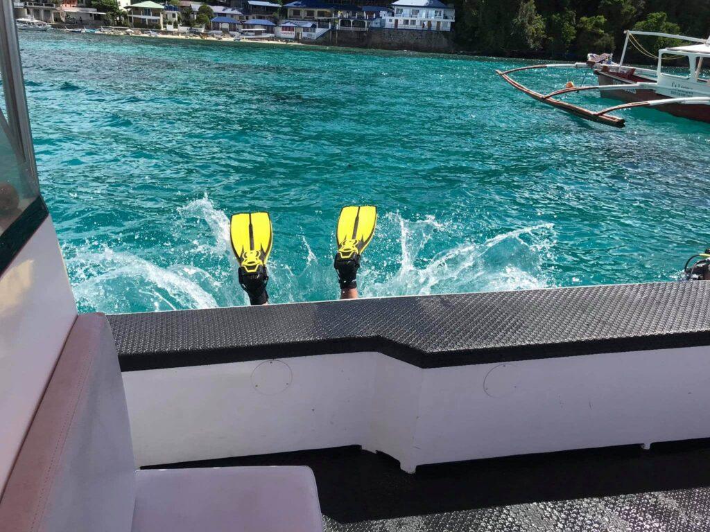 Family Diving with LLV Divers at Lalaguna Villas