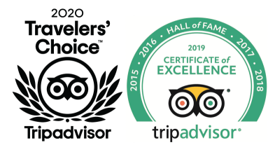 Tripadvisor - Travelers' Choice 2020 & Certificate of Excellence 2019 - Lalaguna Villas 1
