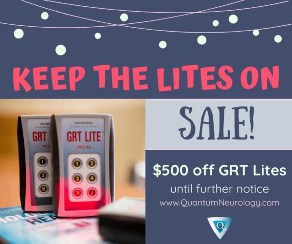 keep the lites on! Sale