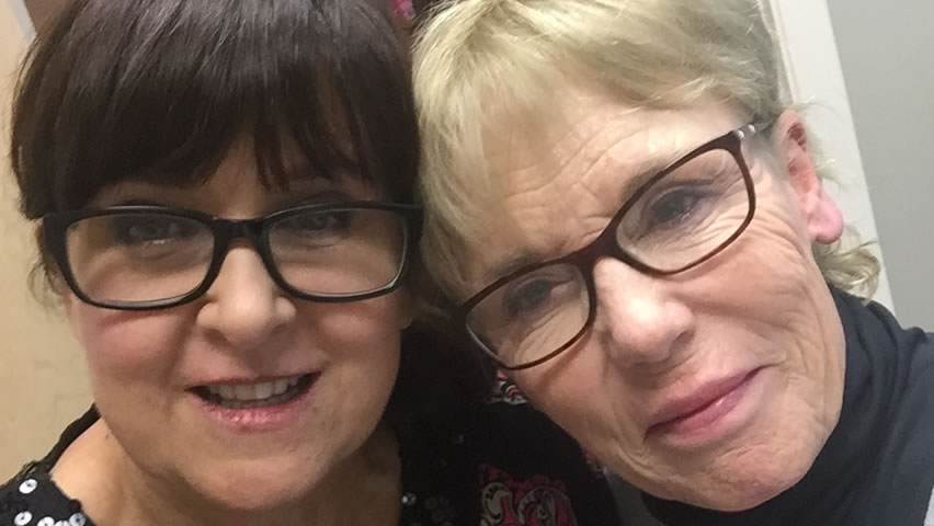 Judy and Dr Gail of Face Beautiful Cosmedic Abbotsford