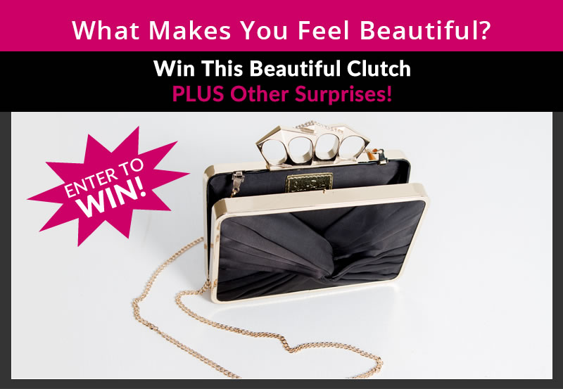 What makes you feel beautiful contest - enter to win!