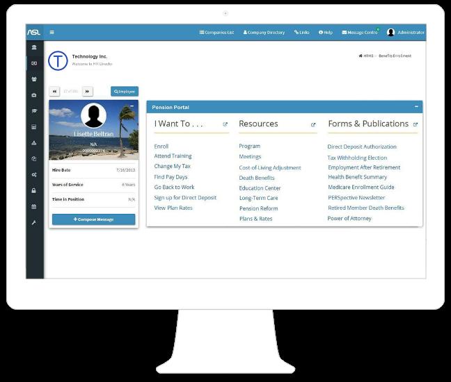 Online Pensioner Portal
