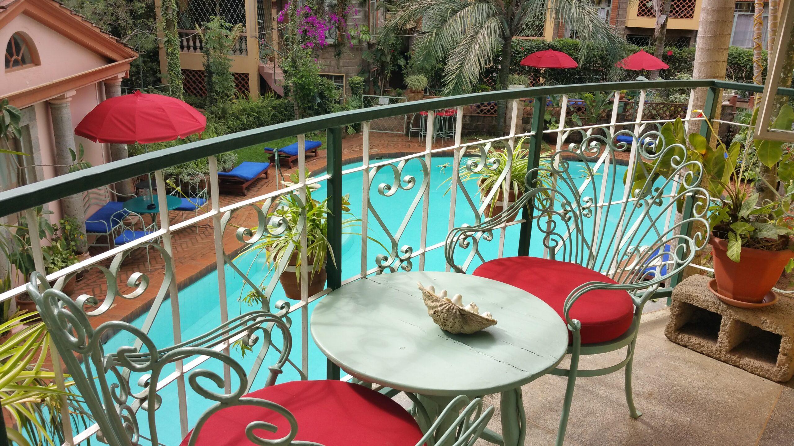 Enjoy Our Heated Pool