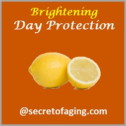 Brightening Day Protection by Secret of Aging