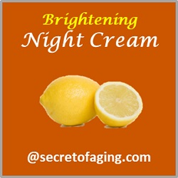 Brightening Night Cream by Secret of Aging