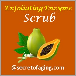 Exfoliating Enzyme Scrub by Secret of Aging