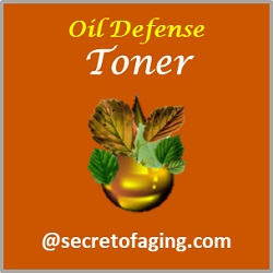 Oil Defense Toner by Secret of Aging