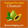Papaya Enzyme Cleanser by Secret of Aging