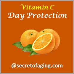 Vitamin C Protection by Secret of Aging