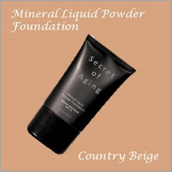 Country Beige Mineral Liquid Powder Foundation by Secret of Aging