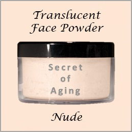 Nude Loose Face Powder by Secret of Aging