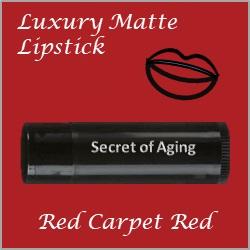 Red Carpet Red Luxury Matte Lipstick