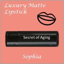 Sophia Luxury Matte Lipstick