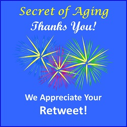 Secret of Aging Thanks You