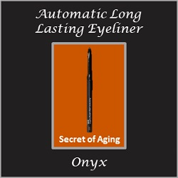 Automatic Long Lasting Eyeliner Onyx by Secret of Aging
