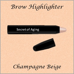 Brow Highlighter Champagne Beige by Secret of Aging